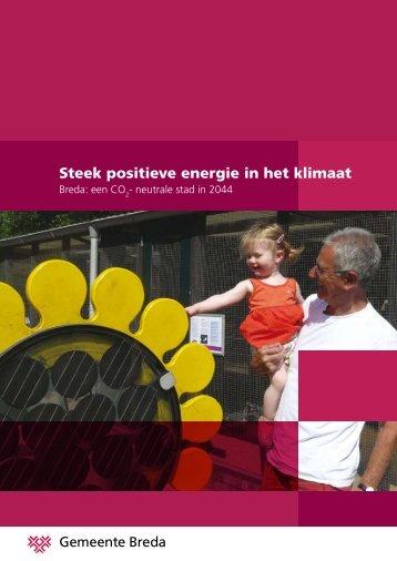 Steek positieve energie in het klimaat