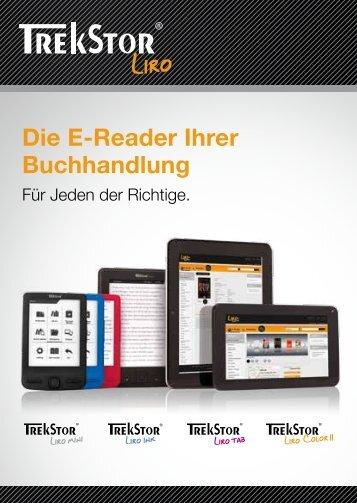 Die E-Reader Ihrer Buchhandlung - boersenblatt.net