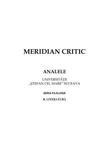 "prima pagina literatura I 2011 - ""?tefan Cel Mare"" Suceava"