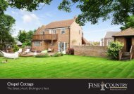 Chapel Cottage - Fine & Country