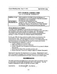 Annual Comprehensive Plan and Development Code Amendments