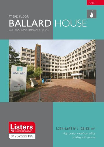 Ballard HOuse - Listers - Plymouth-based independent commercial ...
