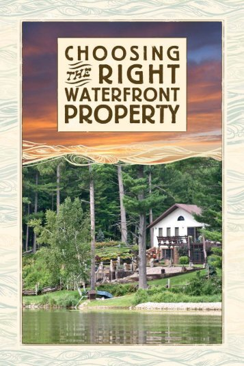 Choosing the Right Waterfront Property - Wisconsin Department of ...