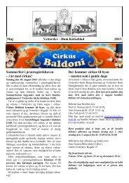 Kirkeblad Maj 2013 - Høm sogne