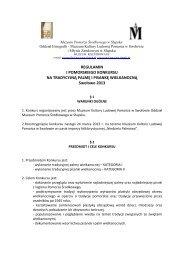 regulamin I POMORSKIEGO KONKURSU NA ... - Swołowo