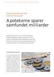 Apotekerne sparer samfundet milliarder - Elbo