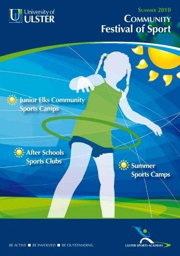 Festival of Sport - University of Ulster