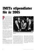 Nummer , augusti 2006 - Stiftelsen IMIT - Page 4