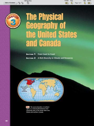 The Physical Geography of the United States and Canada The ...