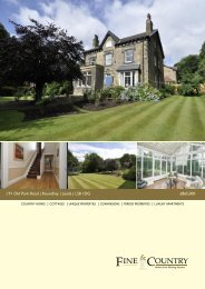   91 Old Park Road   Roundhay   Leeds   LS8 1DG ... - Fine & Country