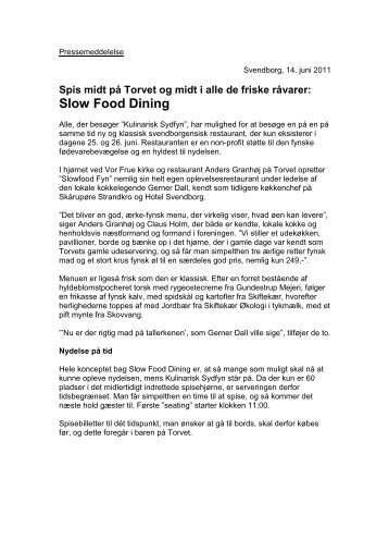 Slow Food Dining - Kulinarisk Sydfyn