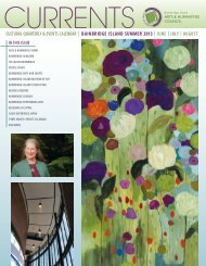 Summer 2013 edition - Bainbridge Island Arts & Humanities Council