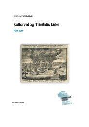 Udgravningsberetning Kultorvet - Københavns Museum