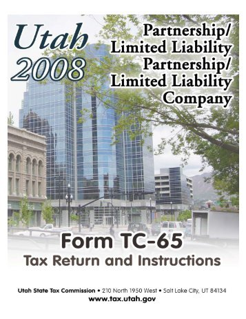 TC-65 - Utah State Tax Commission - Utah.gov
