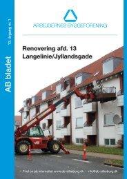 AB Bladet april 2012 - Arbejdernes Byggeforening, Silkeborg