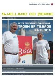 troEn Er tilbagE på bisca - Fødevareforbundet Sjælland og Øerne ...