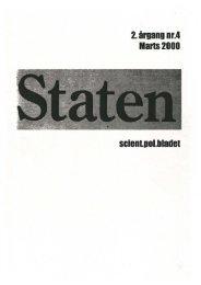 Marts 2000, årgang 2, nr. 4 - STATEN
