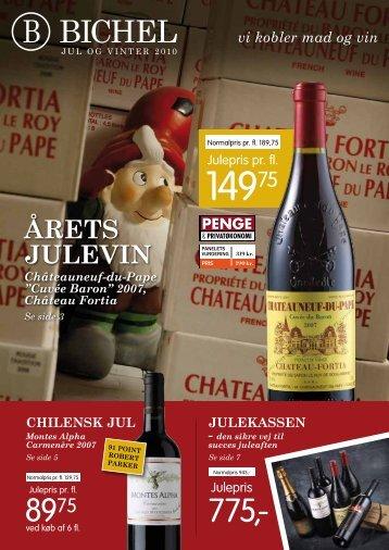 Årets Julevin - Bichel Vine
