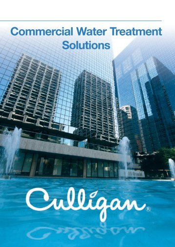 Commercial water treatment solutions - CMS