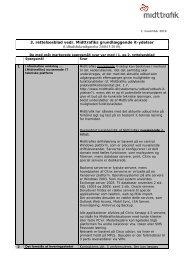 3. rettelsesblad it udbud - Midttrafik
