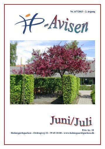 Juni/Juli 2013 - Holmegårdsparken