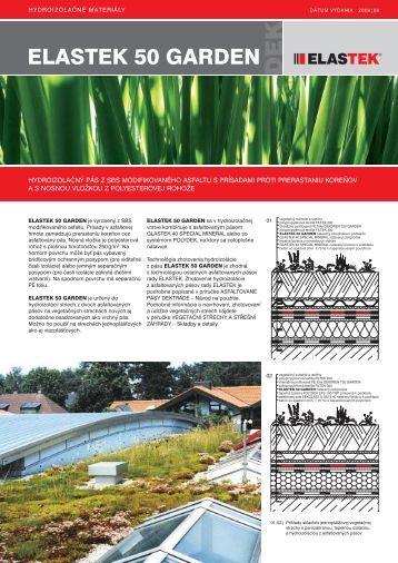 ELASTEK 50 GARDEN 06_2009_sk.indd - DEKTRADE