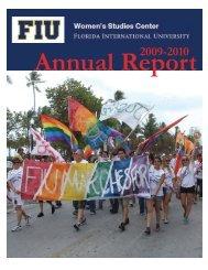 Women's Studies - College of Arts & Sciences - Florida International ...