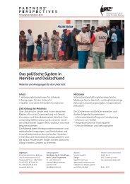 Das politische System in Namibia und Deutschland - Über EPIZ