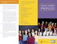 CDC Profiles Brochure