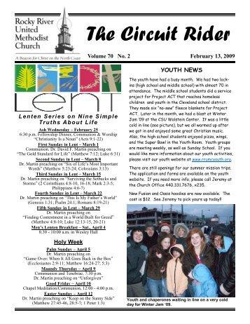 The Circuit Rider - Rocky River United Methodist Church