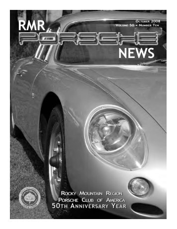 october 2008 rmr porsche news - Rocky Mountain Region Porsche ...