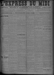 10 Septembre 1896 - Bibliothèque de Toulouse