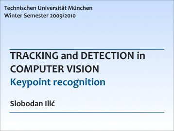Keypoint recognition