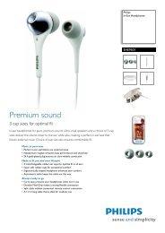 SHE9501/00 Philips In-Ear Headphones