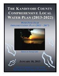 WATER PLAN (2013-2022)