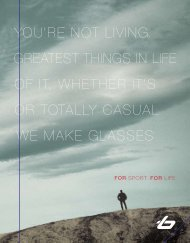 ovIng, you're not lIvIng. of the greatest thIngs In ... - OpticsPlanet.com