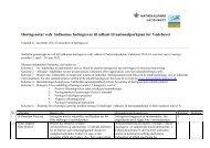 Høringsnotat vedr. indkomne høringssvar til udkast ... - Nationalparker