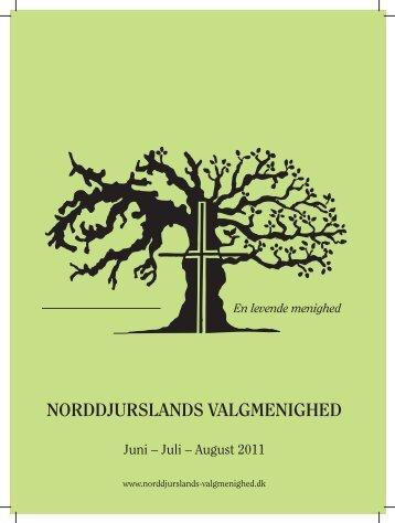 Juni – Juli – August 2011 - Norddjurslands Valgmenighed