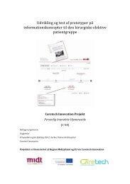 rapporten om det etnografiske studie - Caretech Innovation