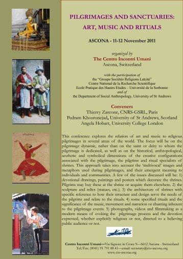 pilgrimages and sanctuaries
