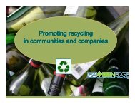 Promoting recycling in communities and companies - Alive2green