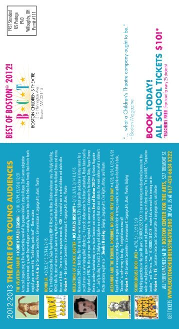BEST OF BOSTON 2012! - Boston Children's Theatre