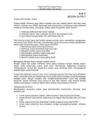 BAB 11 Design Output - Blog Universitas Bina Darma