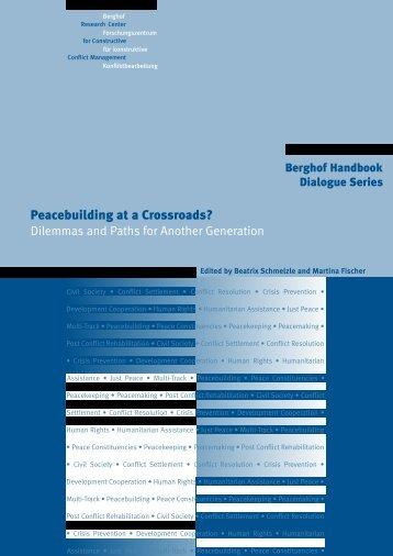 Peacebuilding at a Crossroads? - Berghof Handbook for Conflict ...