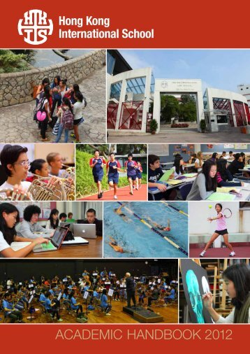 academic handbook 2012 - DragonNet - Hong Kong International ...