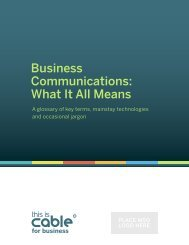 Business Communications: What It All Means - Bright House ...