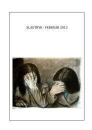 Februar, 2012 - Slagtryk