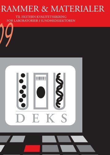 2. Status og generelle nyheder fra DEKS - Dansk Institut for Ekstern ...