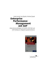 Enterprise Performance Management mit SAP