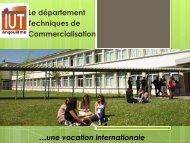 La formation en IUT - IUT Angoulême